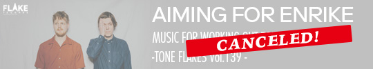 AIMING FOR ENRIKE MUSIC FOR WORKING OUT TOUR IN JAPAN - TONE FLAKES Vol.139 -