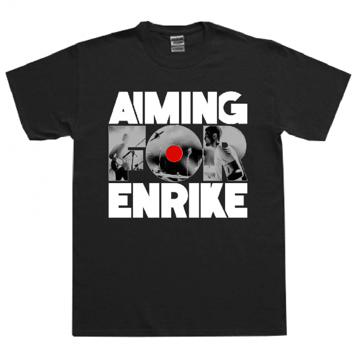 AIMING FOR ENRIKE / PHOTO LOGO (BLACK)